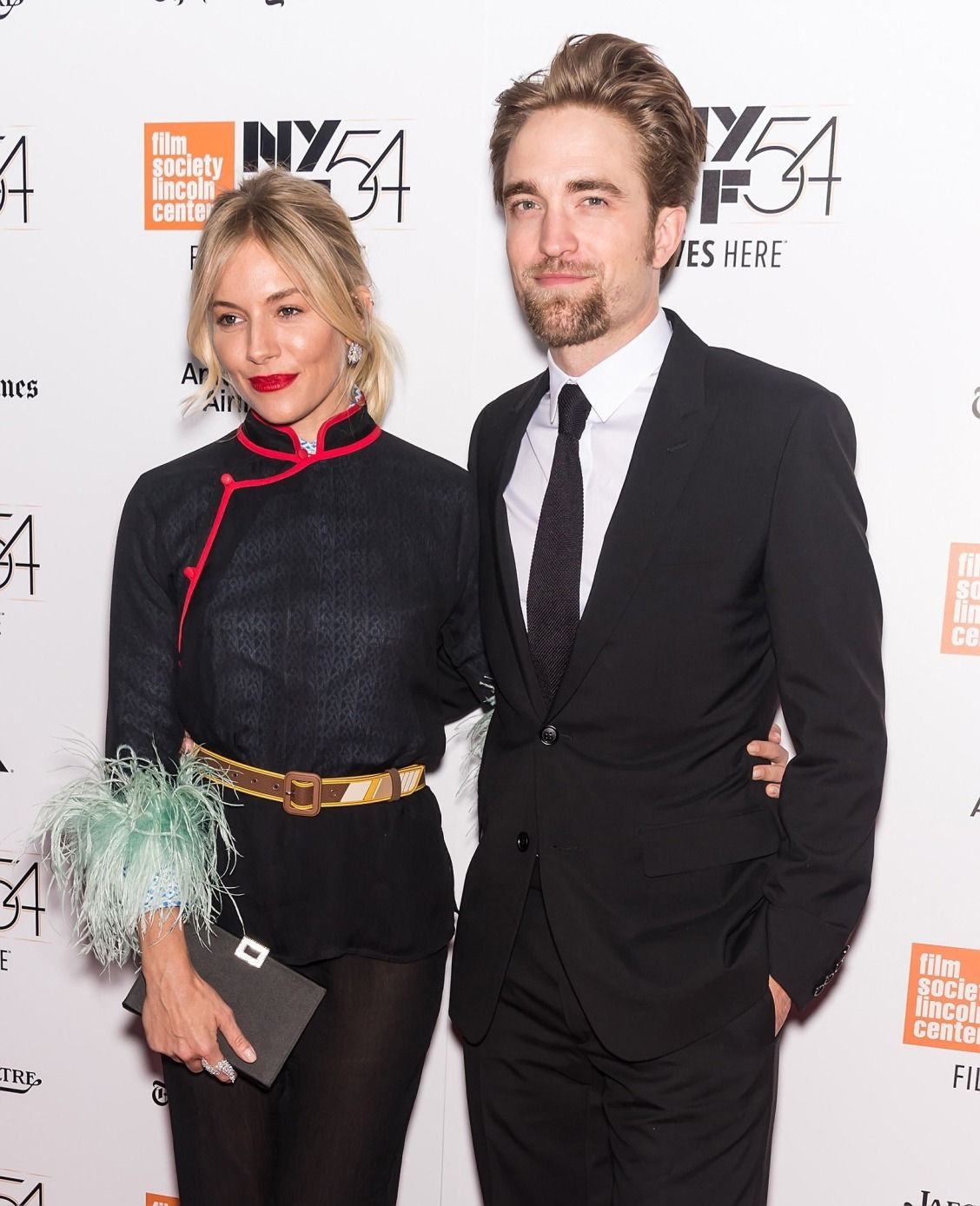 Sienna Miller and Robert Pattinson Close Out the New York