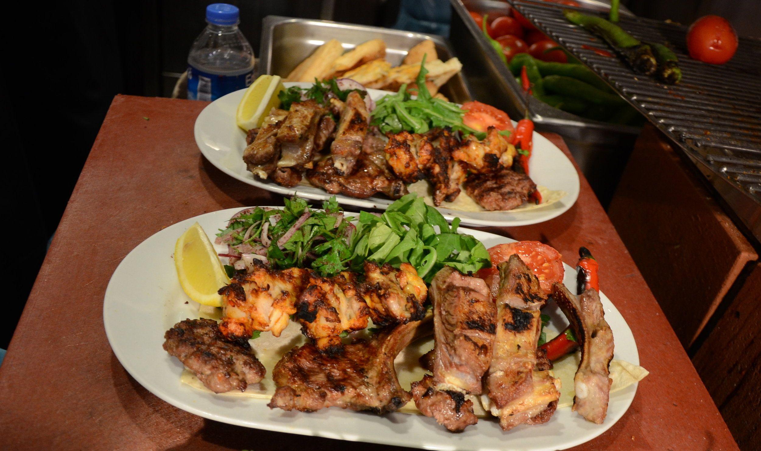 English Adana Grillhaus Turkish Restaurant Cooking Kitchen Eat