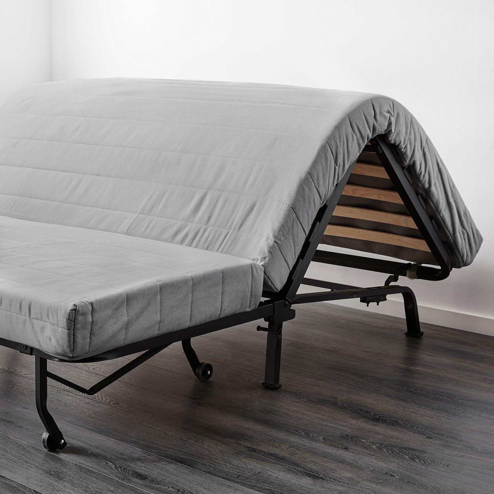 Lycksele Lovas Sleeper Sofa Ransta White Ikea Housse Canape Housses Matelas Simple