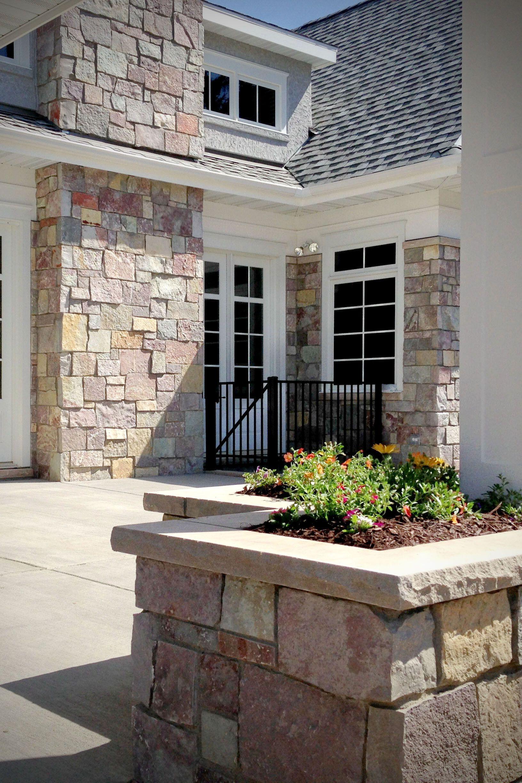 Full Color Castle Rock Castle Stone Full Thin Stone Veneer Exterior Stone Stone Masonry Stone Veneer
