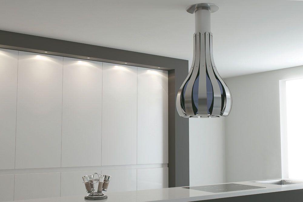Hotte aspirante design par les espagnols de Pando kitchen - hotte de cuisine  cm