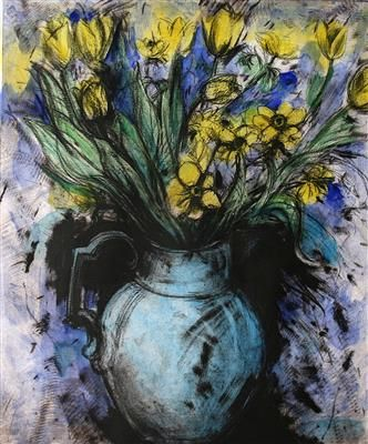 Why Did Jim Dine Paint Flowers Google Search Jim Dine Jim Dine Painting Yellow Flowers