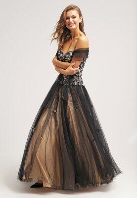 Zalando Avondjurken.Jurken Luxuar Fashion Galajurk Schwarz Nude Zwart 349 95 Bij