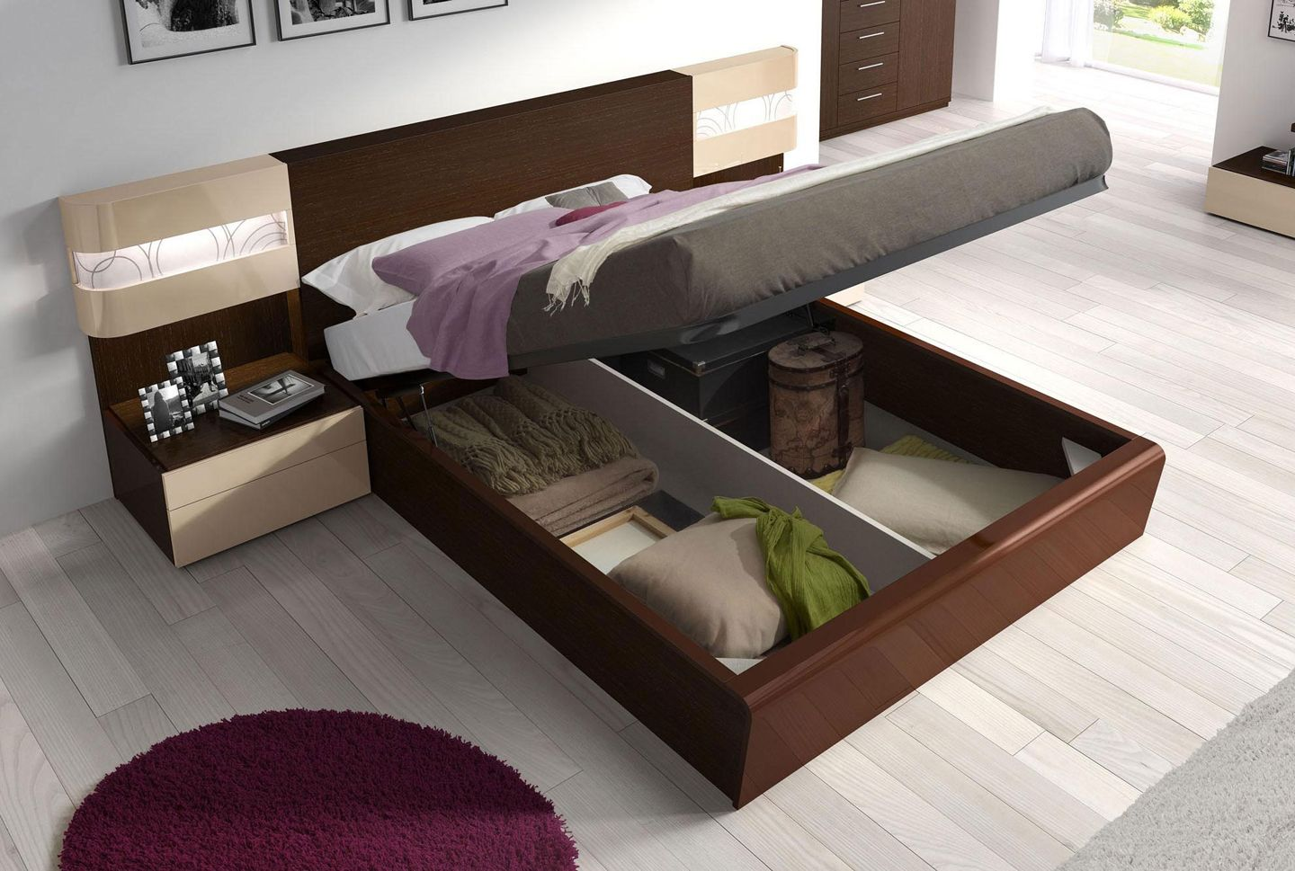 unique modern bedroom furniture design