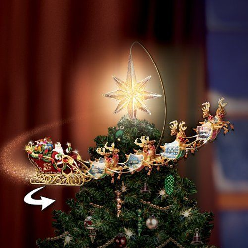Deluxe Rotating Illuminated Tree Topper Animated Christmas Decor Christmas Tree Toppers Christmas Tree Toppers Lighted Christmas Tree Topper Santa Choose from contactless same day delivery, drive up and more. christmas tree toppers