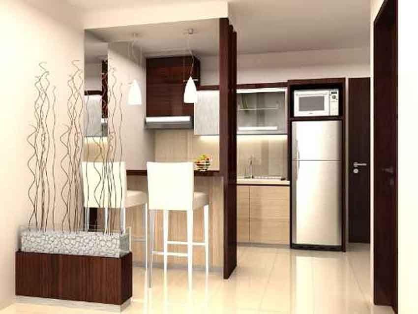 Desain Rumah Minimalis  Tipe 21 Dapur