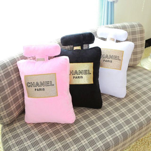 botella de perfume en forma de moda almohada cojn almohadas creativas mueca de juguete de regalo