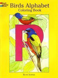 Coloriage: Birds English alphabet
