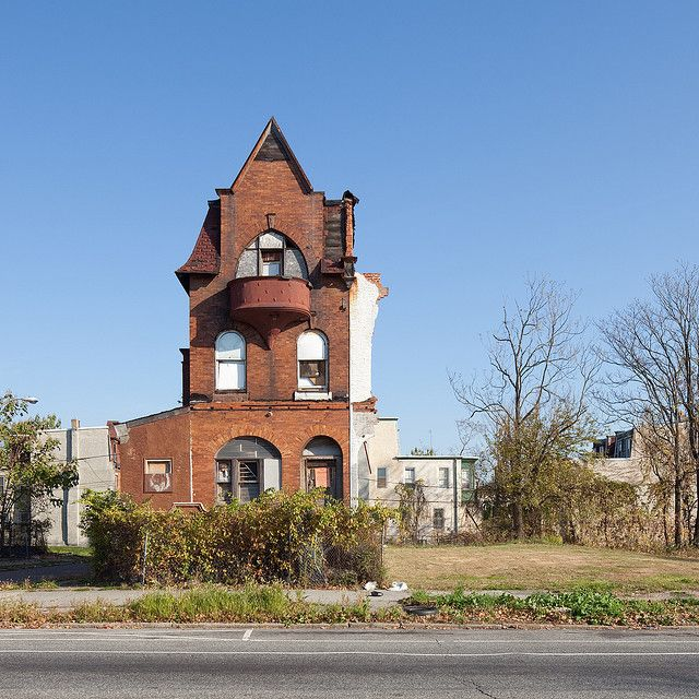Mansions, Abandoned Houses