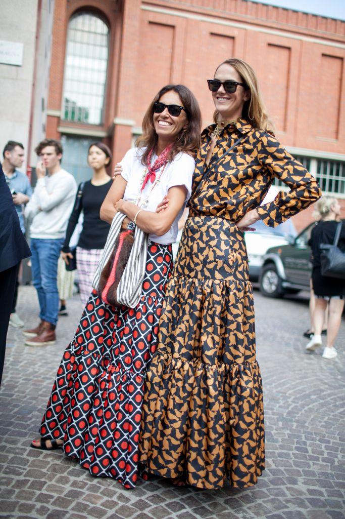 They Are Wearing: Milan Fashion Week Spring 2017 | Print ...