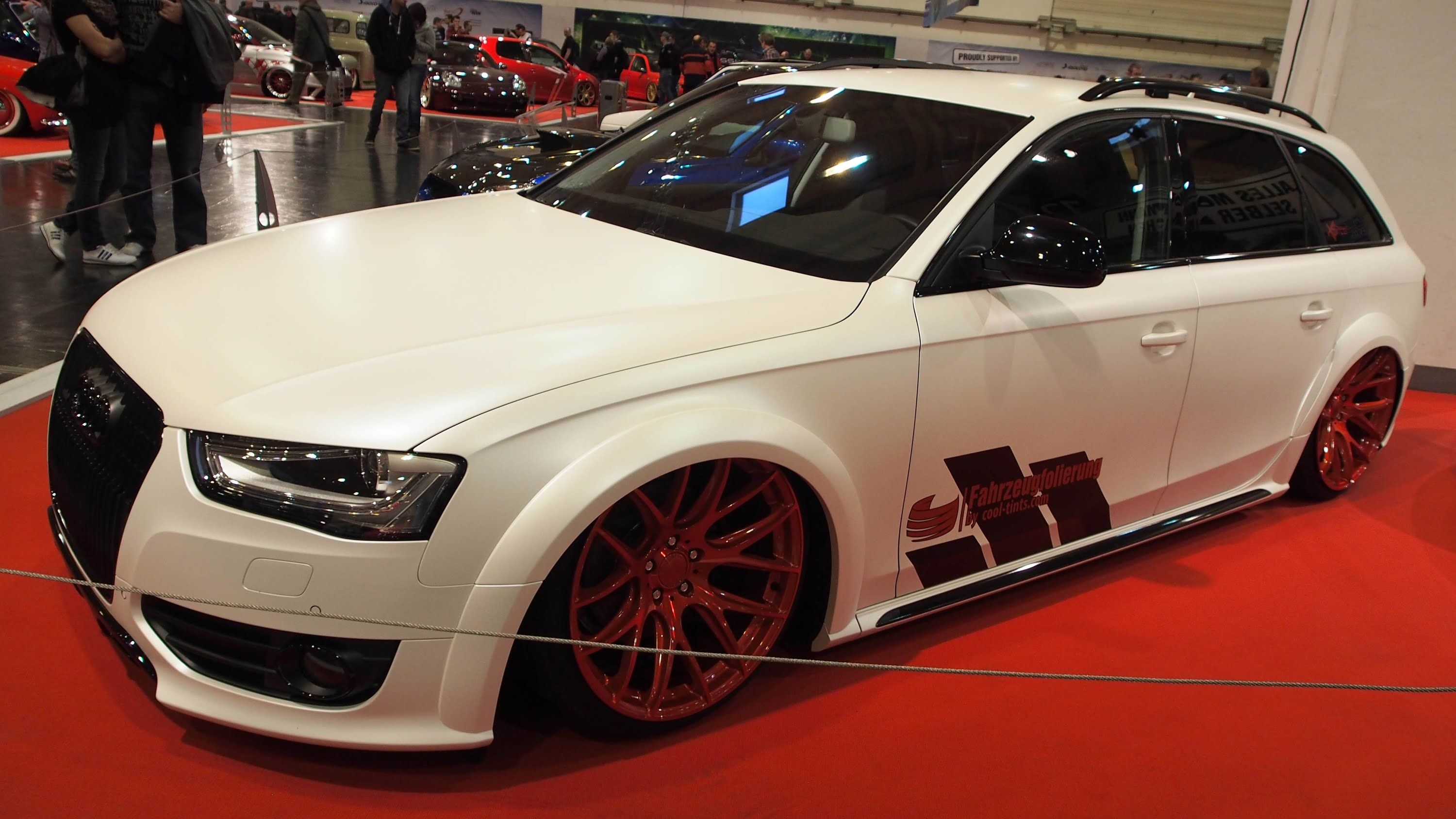 Audi A4 Allroad B8 at Essen Motorshow Exterior Walkaround