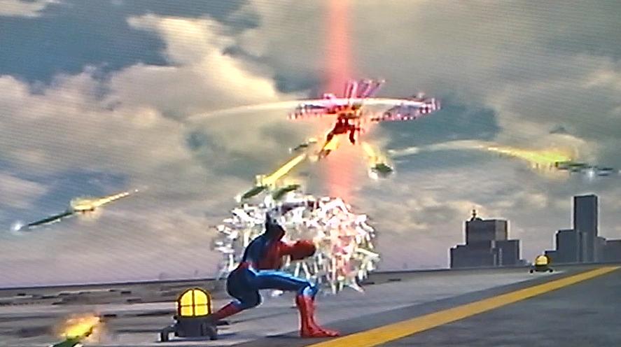 Web Shield From Spider Man Web Of Shadows Spiderman Web Shield Cartoon Gifs