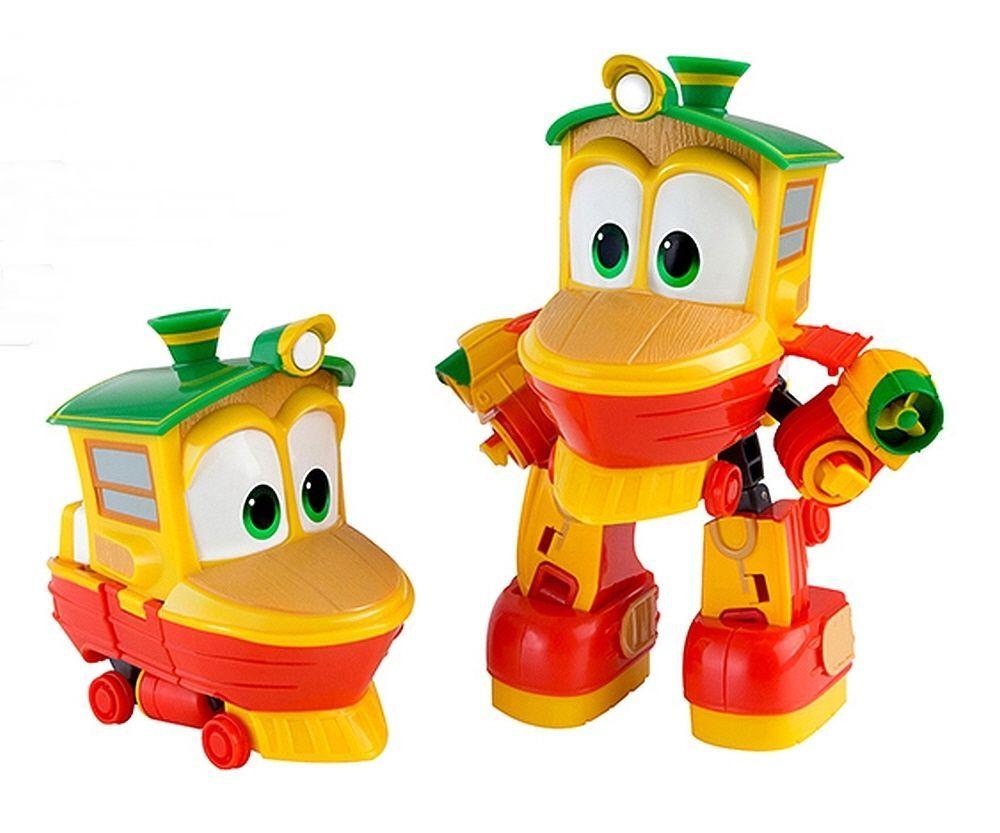 Korean Animation Robot Train Transformer  Robot Character Kay Toy Kids Children