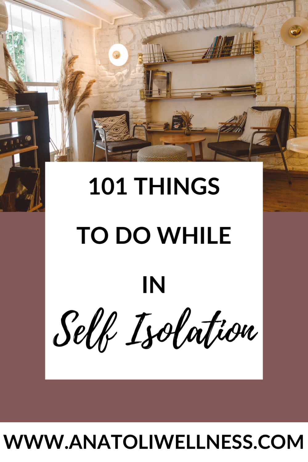 101 Things To Do While In Self Isolation in 2020 Things
