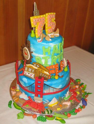 San Francisco Cake Occasions Children S Cakes Cupcakes Wedding Groom