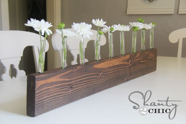 Test Tube Bud Vase Centerpiece Diy Test Tubes Diy Centerpieces