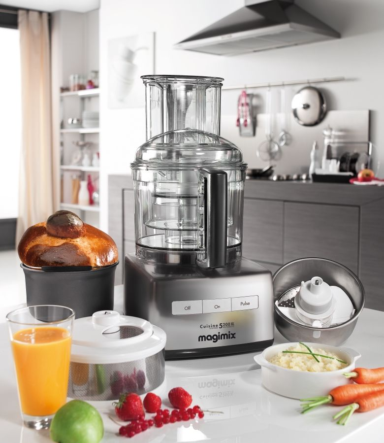 Magimix 5200 Xl Premium Keukenapparatuur Keukenmachine Messen Maken
