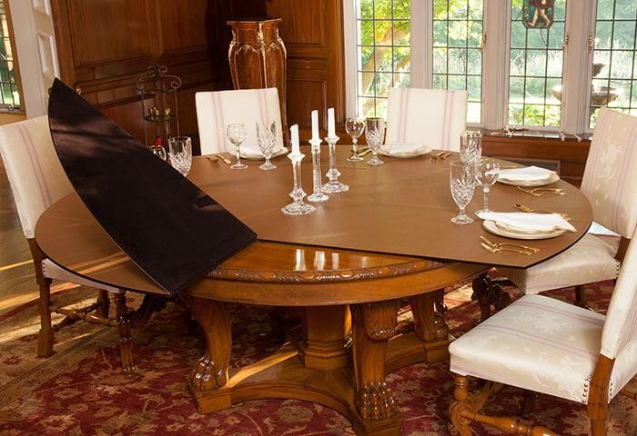 Table Extension Pads And Table Extenders Table Extension Extension Dining Table Custom Dining Tables