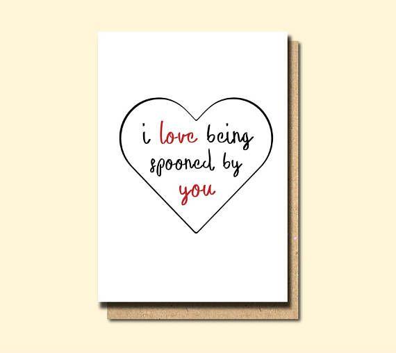 Boyfriend Birthday Card Anniversary Card Cute Love Card Funny