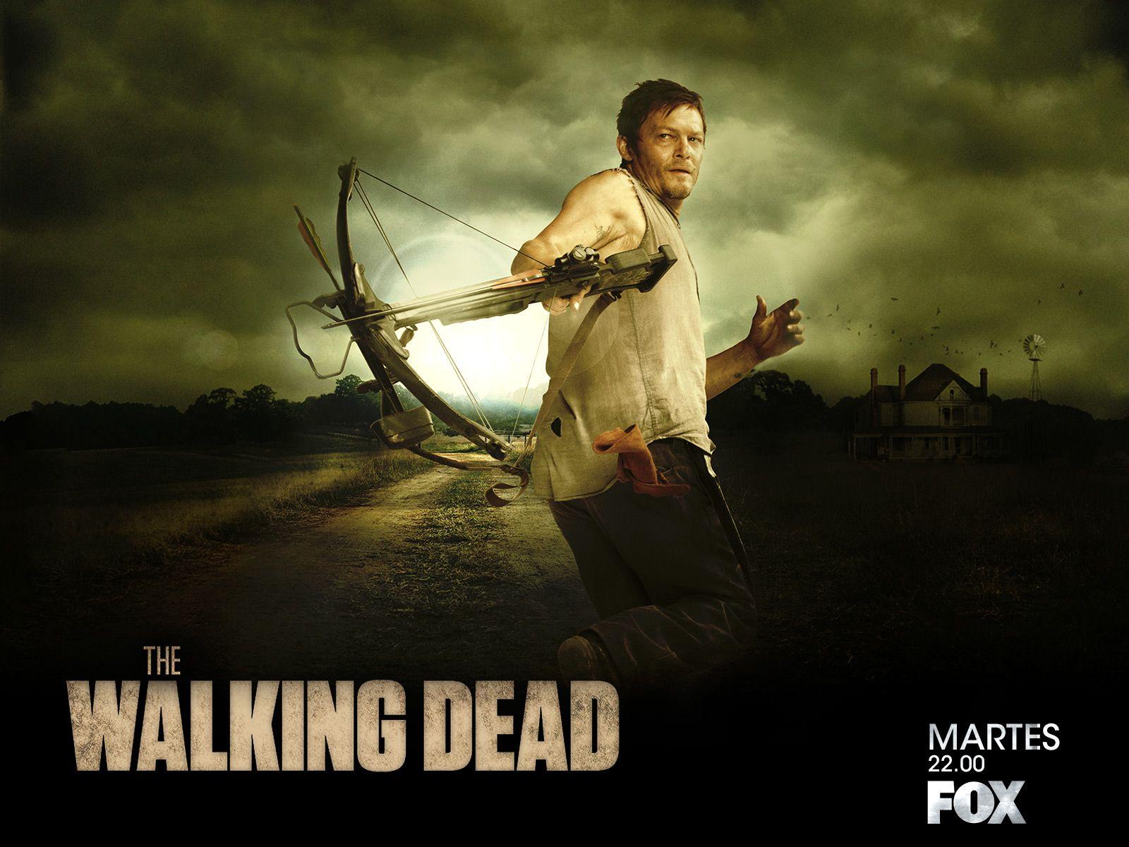 The Walking Dead Wallpaper Daryl Dixon