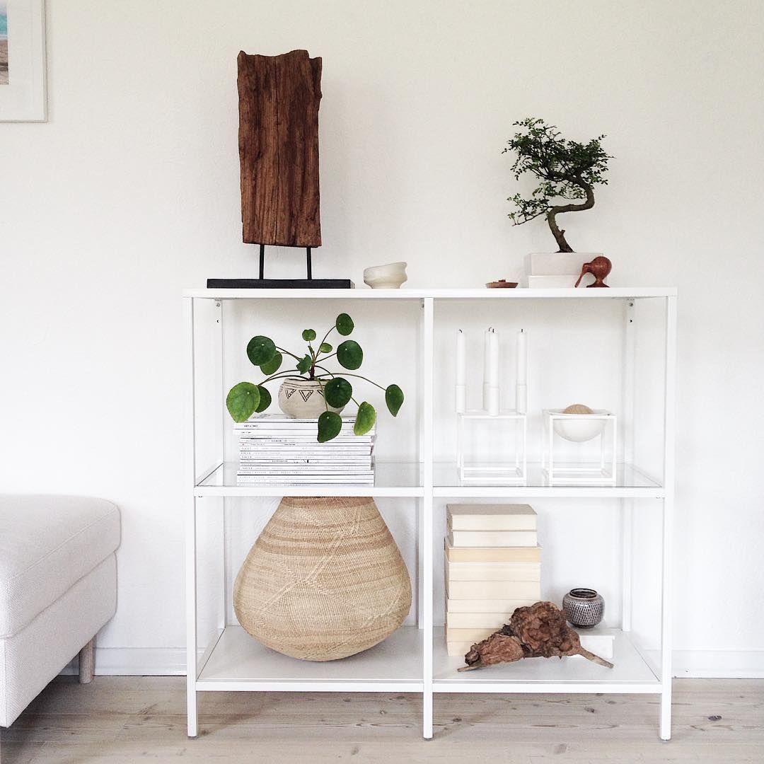 ikea 39 vittsj 39 shelf heimatbaum i k e a pinterest shelves interiors and ikea hack. Black Bedroom Furniture Sets. Home Design Ideas