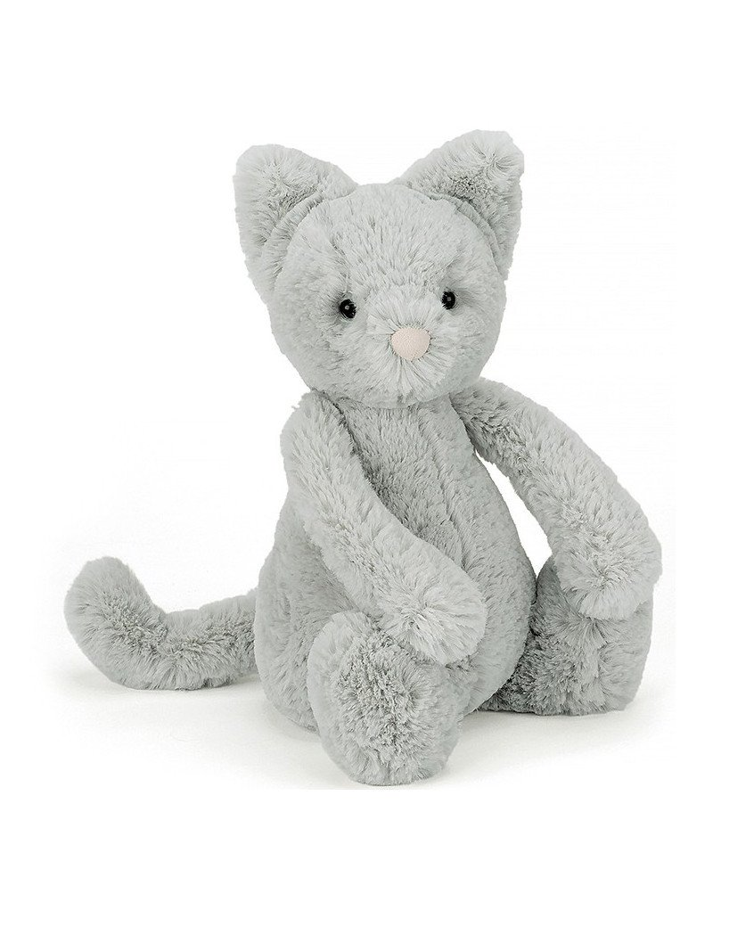 So So Soft And Ever So Pretty Bashful Kitty Is A Brilliant Soft Toy Buddy For Bedtime This Dreamy Cat With Her Clo Animal Plush Toys Jellycat Toys Jellycat
