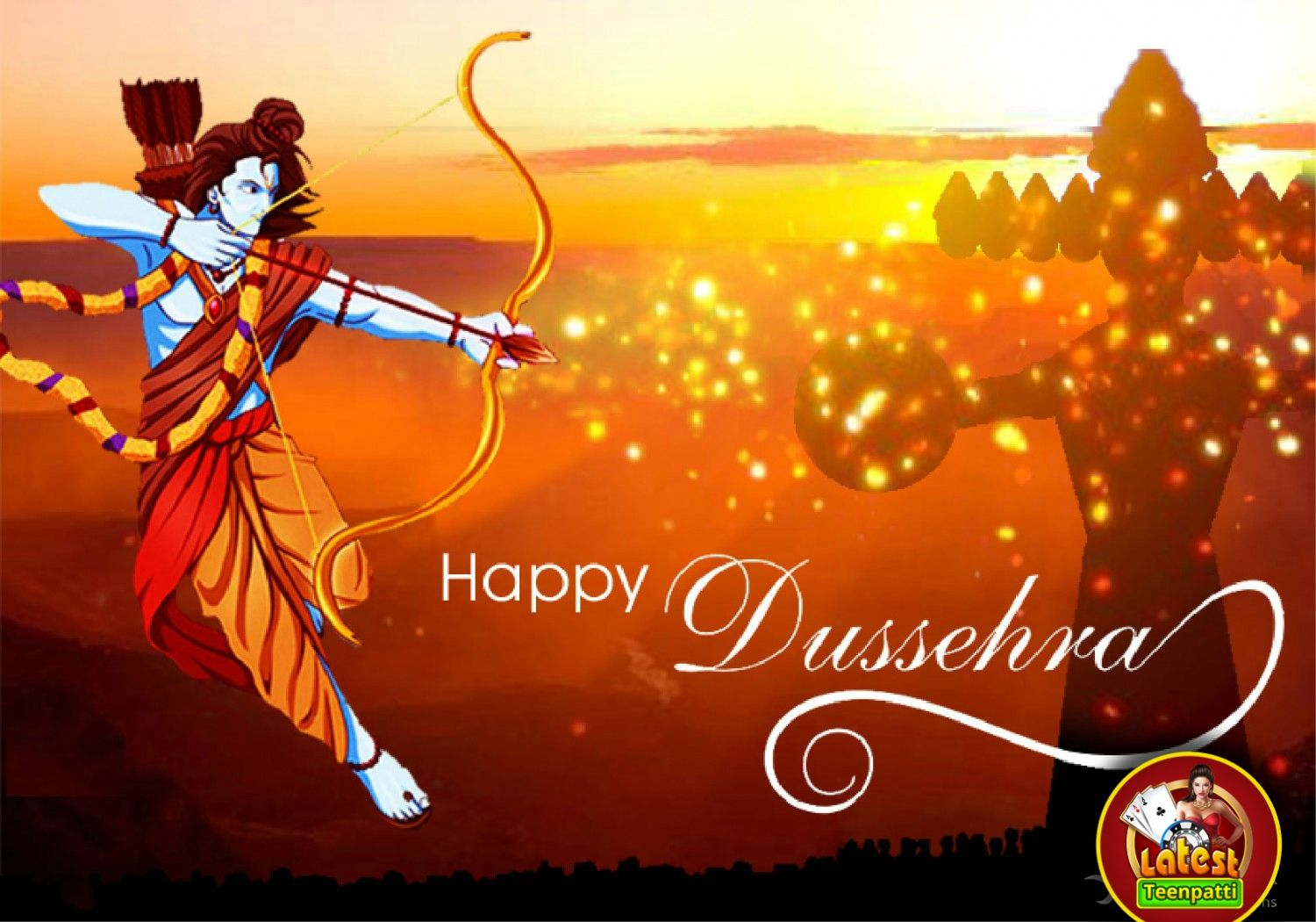 Wishing You A Very Happy Dussehra Keep Enjoying And Stay Blessed