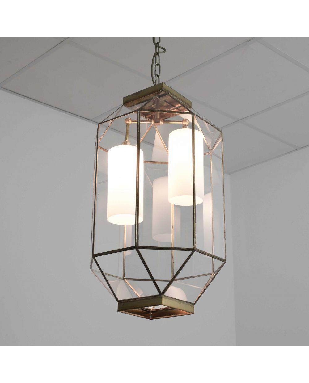 estilo Lámpara techo vidrio farol andaluzlamparas de de xBrChdQts