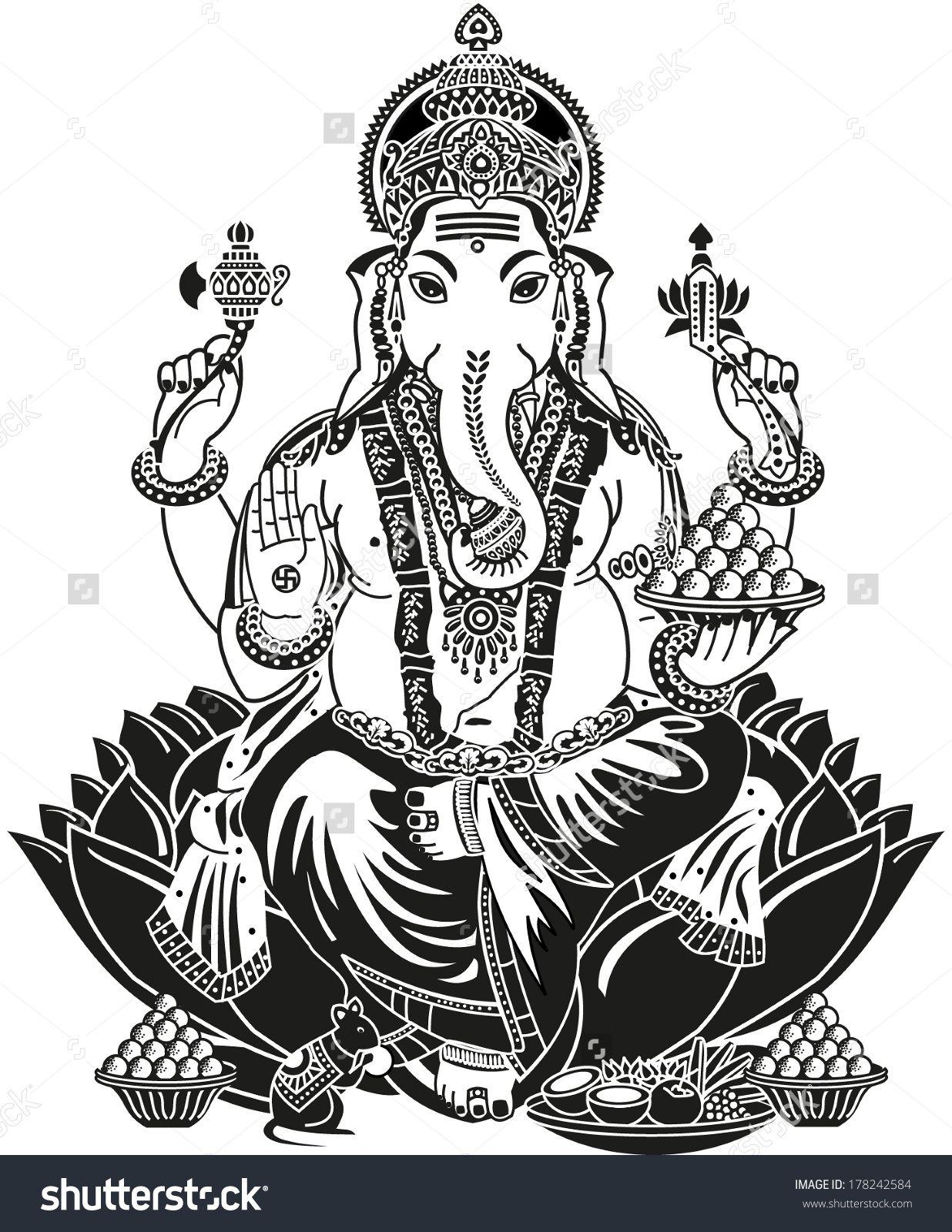 Pin de Geeta Kashyap en Lord Ganesha | Pinterest