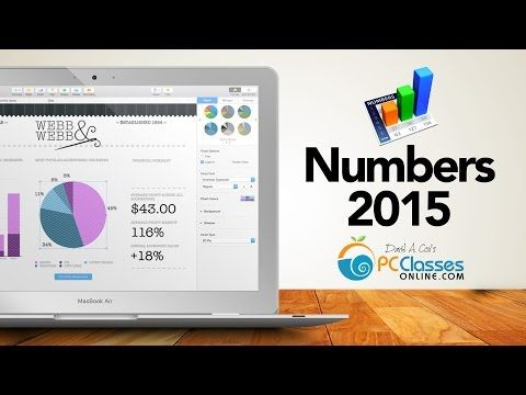 Numbers for Mac 2015 - YouTube This Numbers Tutorial covers all the ...