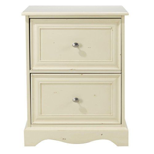 Visit The Home Depot to buy Home Decorators Collection Sheffield 30 in. H Antique  White File Cabinet 0820300460 - Sheffield File Cabinet, 2DRWR 30