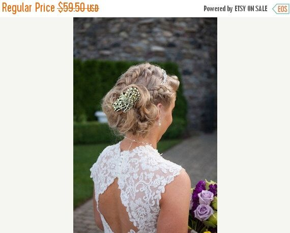 A personal favorite from my Etsy shop https://www.etsy.com/listing/239373494/wedding-hair-accessory-bridal-hair-comb
