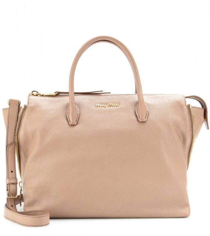 Leather tote. I simply love this.