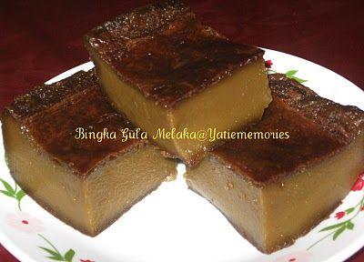 Sinar Kehidupanku Bingka Gula Melaka Desserts Recipes Food
