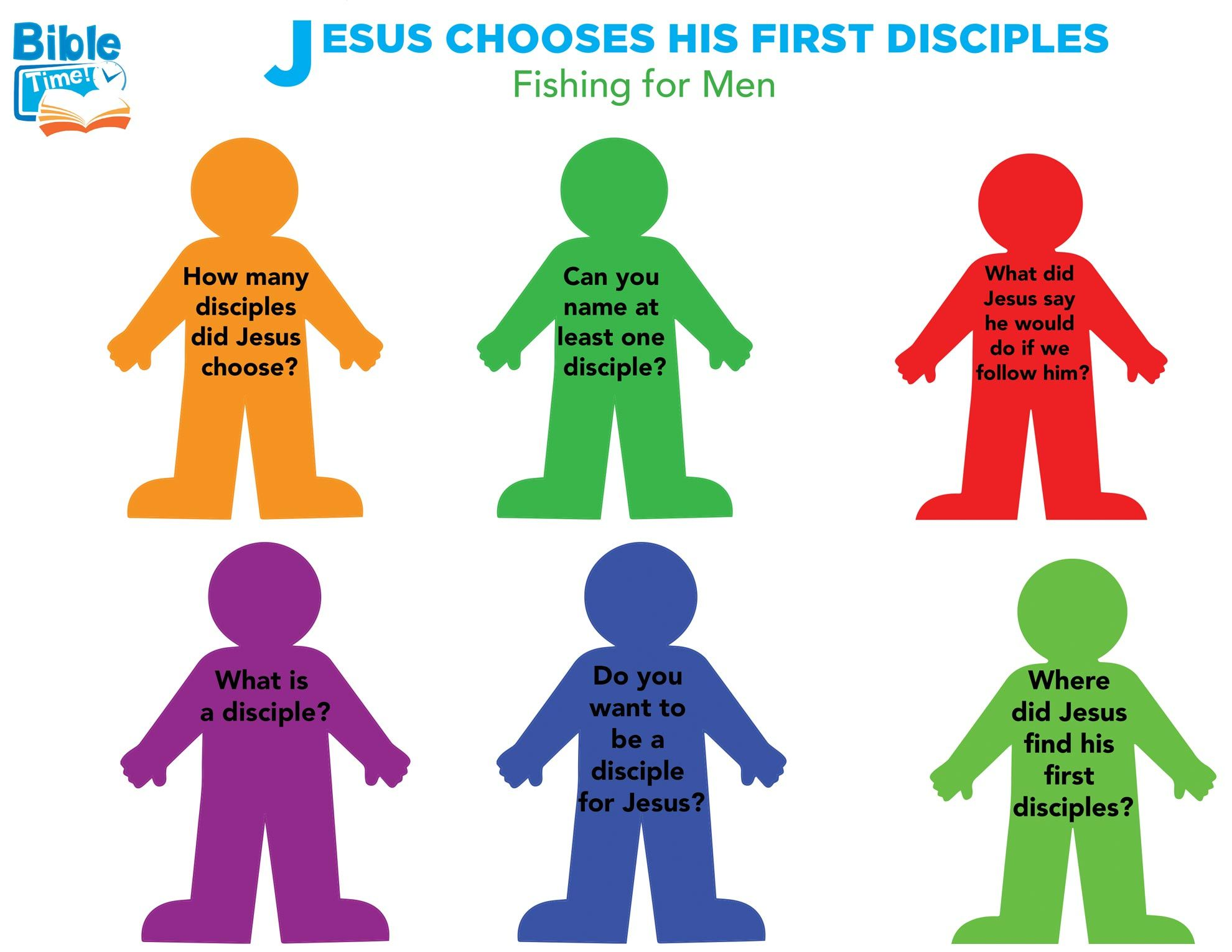 12 Disciples Preschool Bible Activity Easy Kids Crafts For Children S Church Lessons Children