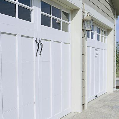Garage Ideas Interior And Exterior Updates Double Garage Door Carriage Garage Doors Garage Door Styles