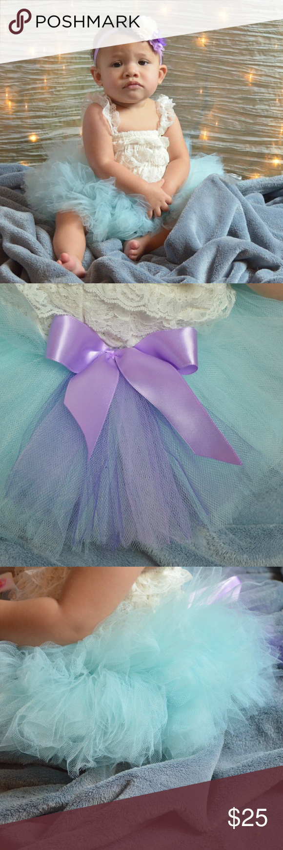 Get this catching skirt for your best girl! Light Blue