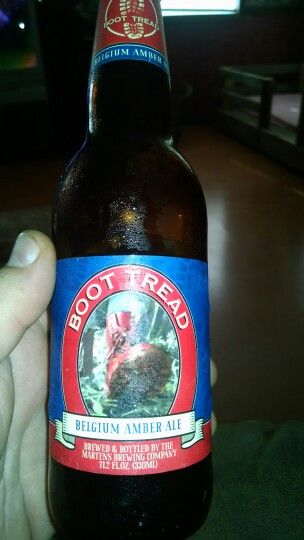 Boot Tread Belgium Amber Ale By Martins Brewing Co Brewing Co Brewing Ale