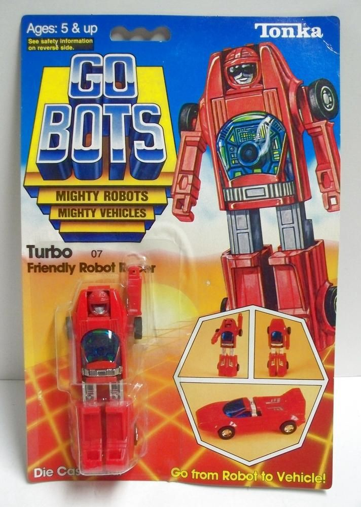 GoBots Pumper 1983 Regular Guardian MR-10 Machine Robo Bandai Popy 80s Vintage Action Figure Transformer Robot Fire Truck