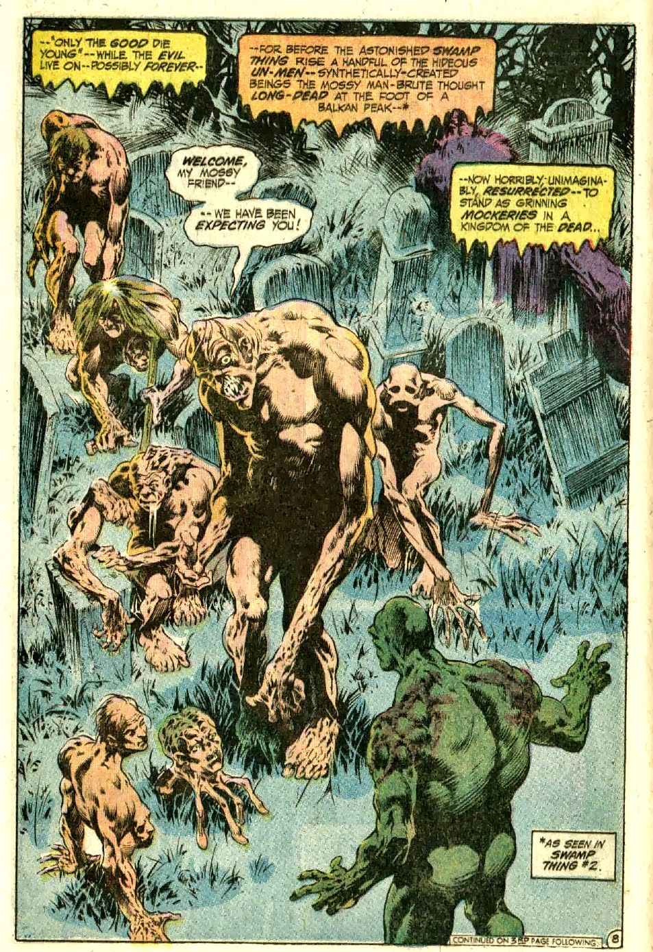 Swamp Thing Volume 01 Issue 10 by Bernie Wrightson | Bernie ...