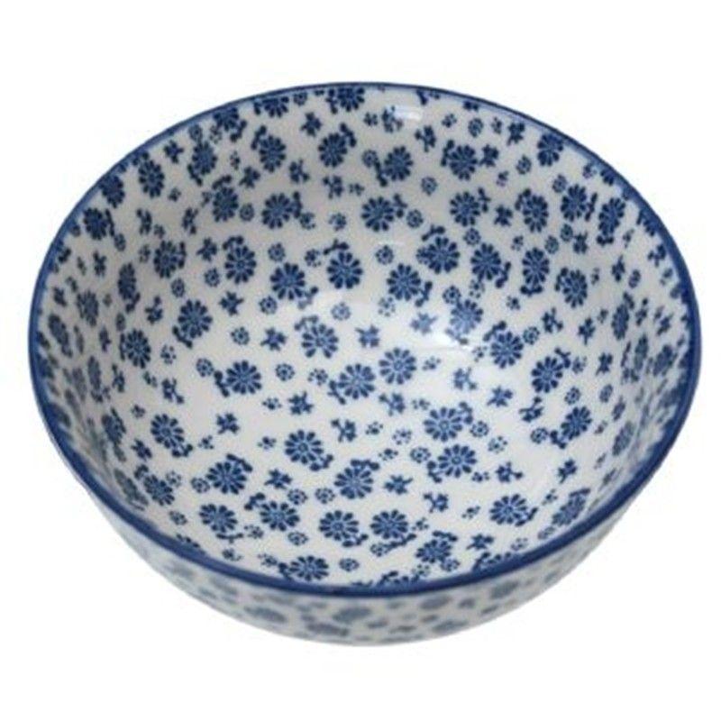 keramik schale blue daisy geschirr blau wei geschirr pinterest. Black Bedroom Furniture Sets. Home Design Ideas
