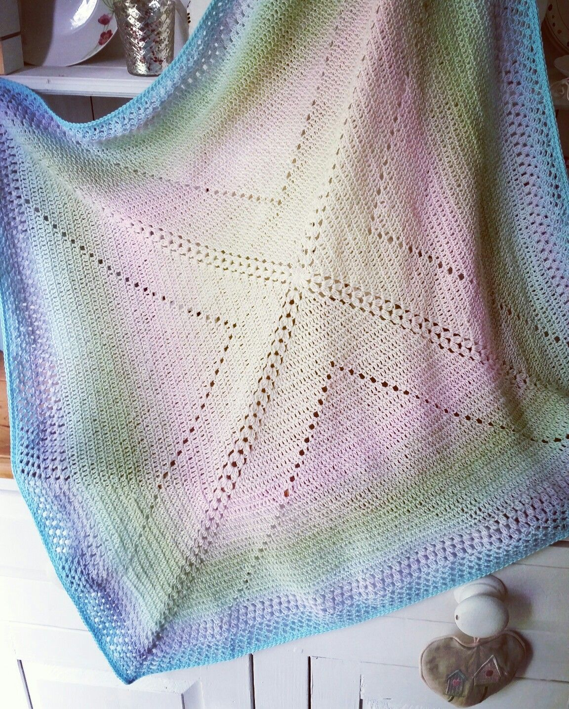 A lovely pattern by felted button free on her blog made ...