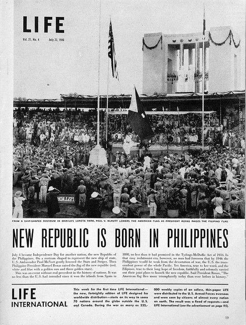 Life Magazine July 22 1946 Philippine Republic Is Born Page 19 Philippines Culture Philippines Philippines Travel