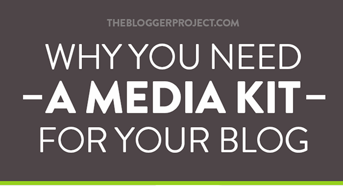 Why You Need A Media Kit For Your Blog - FitFluential