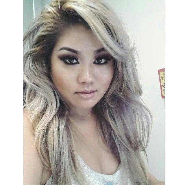 Platinum Silver And Lavender Hair Used Clairol Bw2 Bleach Powder