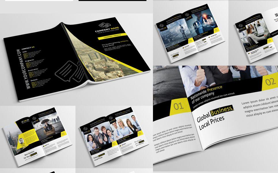 Company Profile Psd Corporate Identity Template 68137 Company