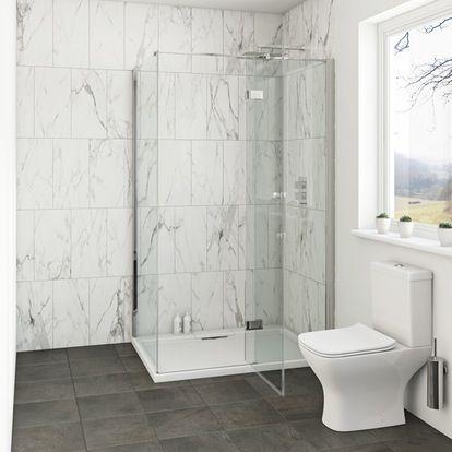 Mode Cooper Premium Mm Easy Clean Shower Enclosure Clean Shower - Easy to clean bathroom tile