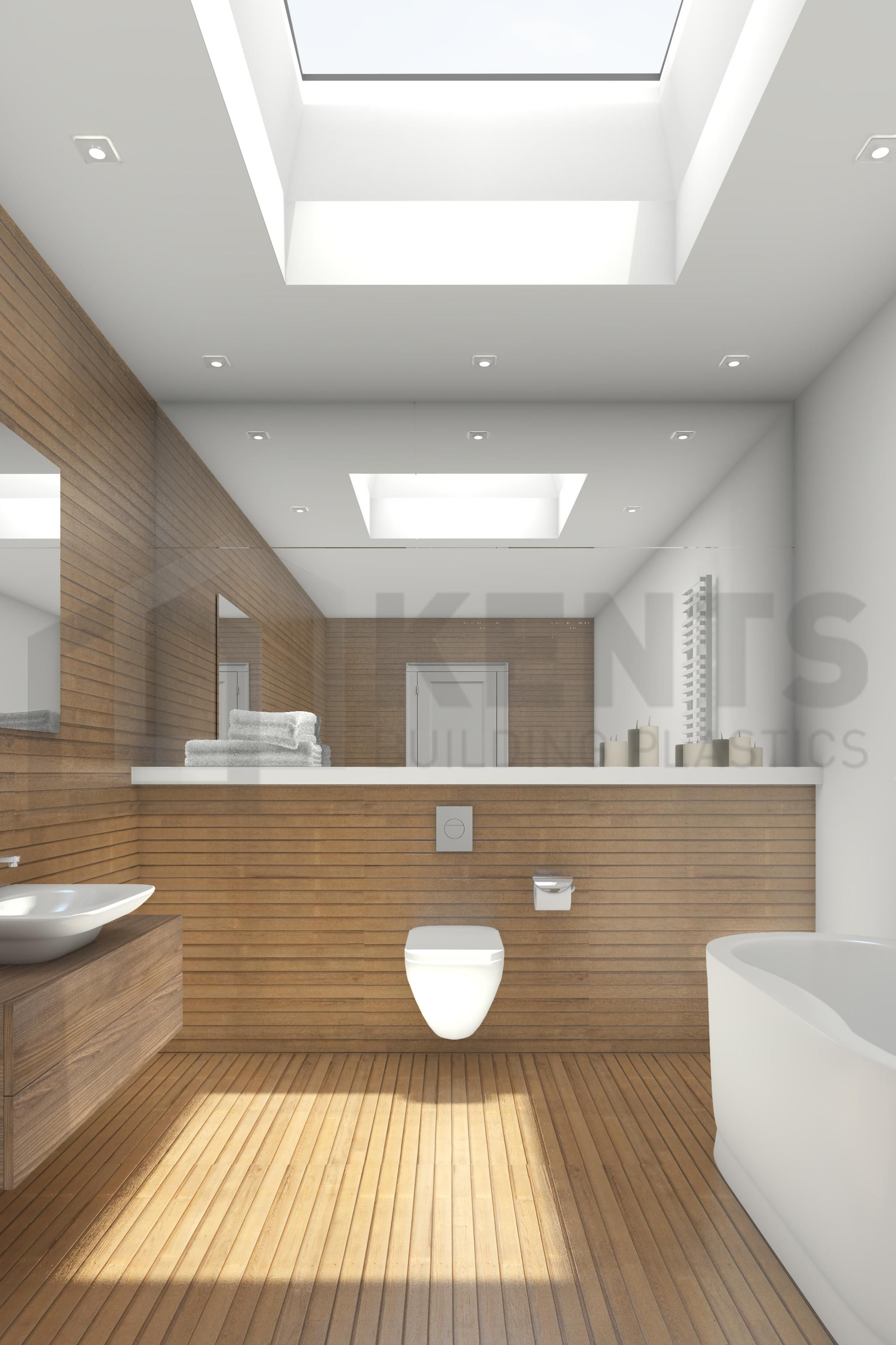 13 Extraordinary Bathroom Roof Lights Design Bathroom