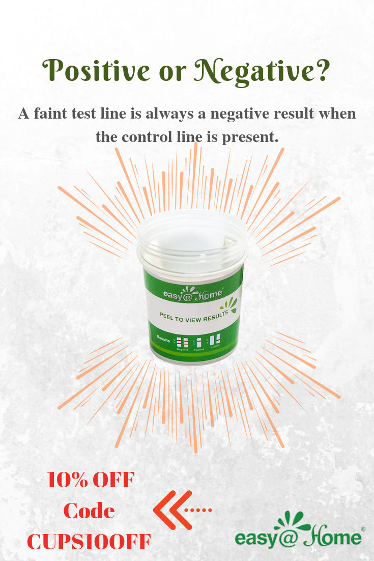 Positive Or Negative Test To Find Out 5 Pack Easy Home Drug Test Cup For 5 Popular Drug Tests And Is More Than 99 Acc Home Drug Test Drug Tests Drug Test