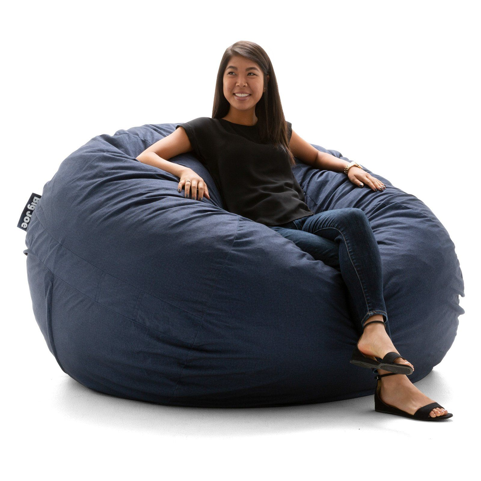 Phenomenal Big Joe Super Fuf Bean Bag Chair Blue Products In 2019 Caraccident5 Cool Chair Designs And Ideas Caraccident5Info